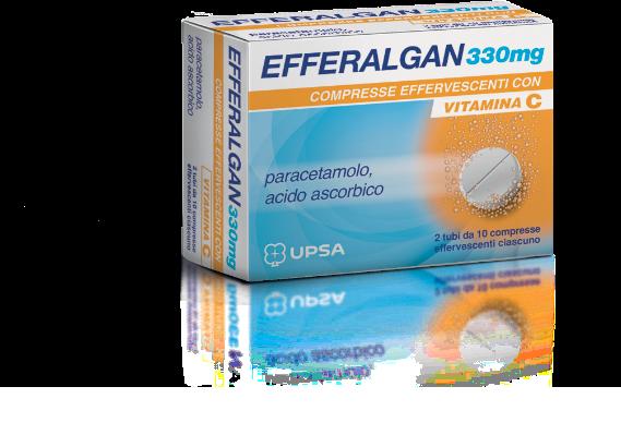 EFFERALGAN pack compresse effervescenti Vitamina C